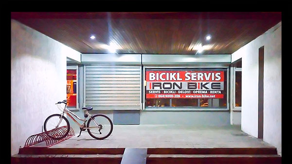 IRON BIKE servis