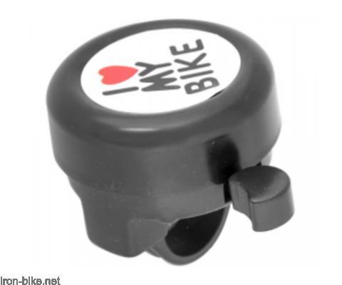 zvono crno i love my bike - 3150003