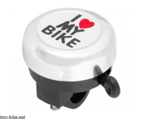 zvono hromirano i love my bike - 3150005