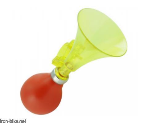 truba dečija pvc prozirna žuto/ crvena guma - 3151007