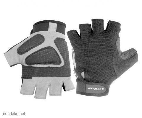 rukavice za bicikl gel protect crno sive xl - 3722001