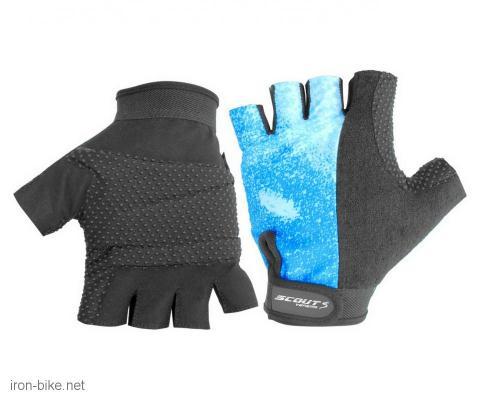 rukavice za bicikl gel protect plavo crne sport xl - 3722002
