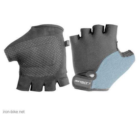 rukavice za bicikl gel protect crno sive soft l - 3722003