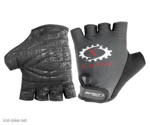 rukavice za bicikl gel protect x-line crne xl - 3722005