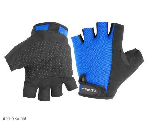 rukavice za bicikl anti slip bike plavo crne l - 3722525
