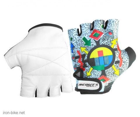 rukavice za bicikl likra šarene bele xl - 3722101