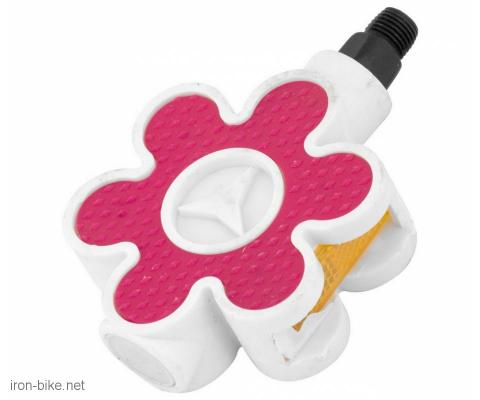 pedala dečja pvc roza cvetić 1/2 uži navoj - 3193241