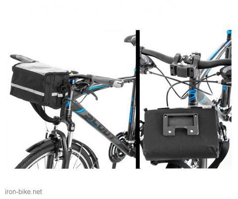 torbica za volan sa folijom crna sa reflekt linijom (quick relase) - 3721105
