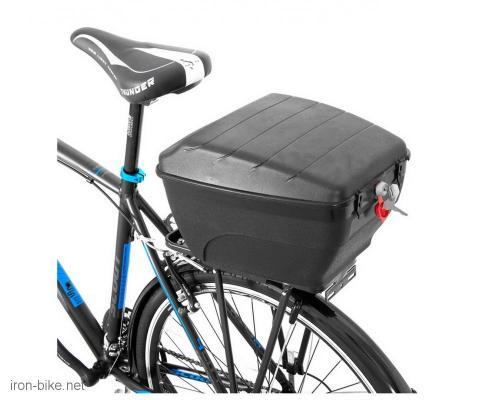 kutija prtljažnik za bicikl na paktreger 14l 380x280x240 mm - 3721013