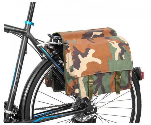 bisage na prtljaznik military print camouflage dieffe 370x320x120 mm - 3721020
