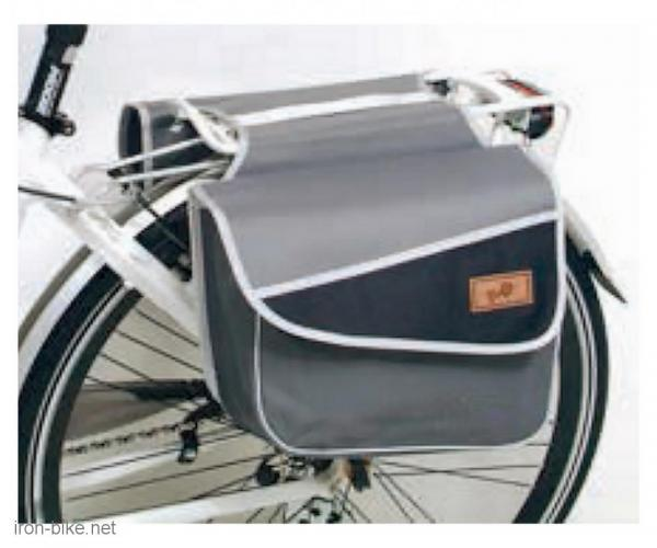 bisage na prtljažnik crno sive ojačane elegant 320x380x100 mm - 3721016