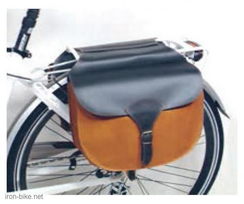bisage na prtljažnik crno braon vintage 330x260x110 mm - 3721018
