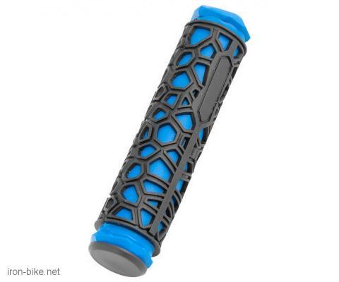 ručke volana spider crno plave 130mm - 3842105