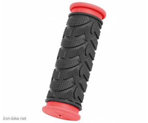 ručke volana mega crno crvene kraće 92mm - 3841002