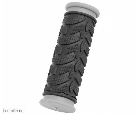 ručke volana mega crno sive kraće 92mm - 3841000