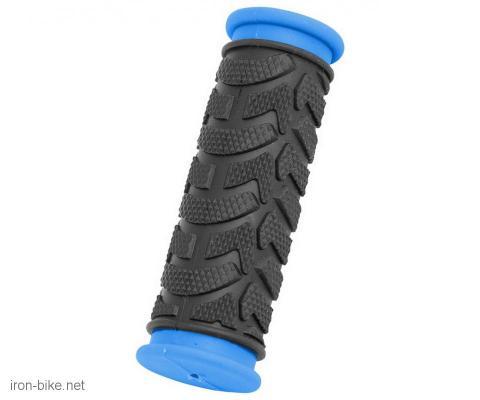 ručke volana mega crno plave kraće 92mm - 3841003