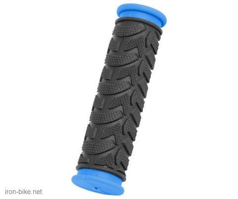 ručke volana mega crno plave duže 125mm - 3841019