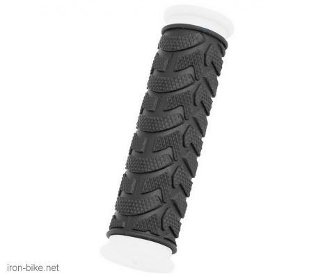 ručke volana mega crno bele duže 125mm - 3841020