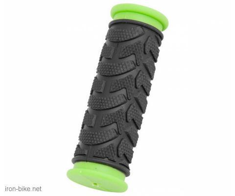 ručke volana mega crno zelene kraće 92mm - 3841012