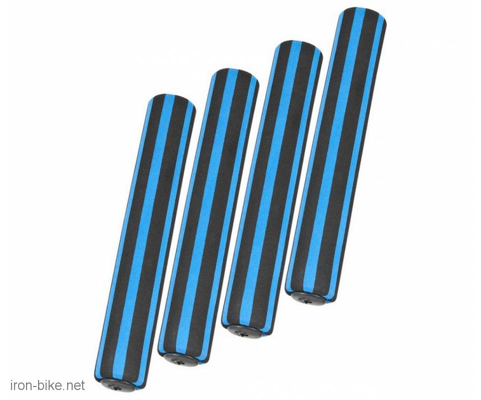 sunđer volan ručke 4 dela plavo-crne - 3840202