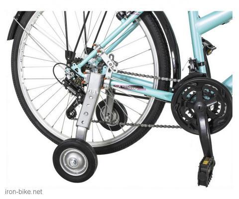 pomoćni točkići za velike bicikle 24-28 do 100kg - 3729008
