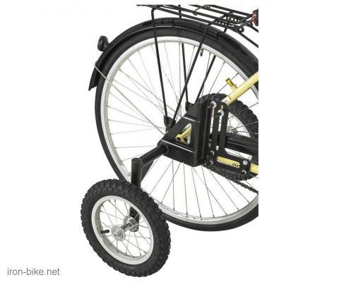 pomoćni točkići za velike bicikle aluminium 20-29 do 120kg - 3729009