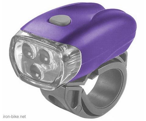 svetlo prednje ljubičasta nice girl tri super diod 24lum tri funkcije - 3504006