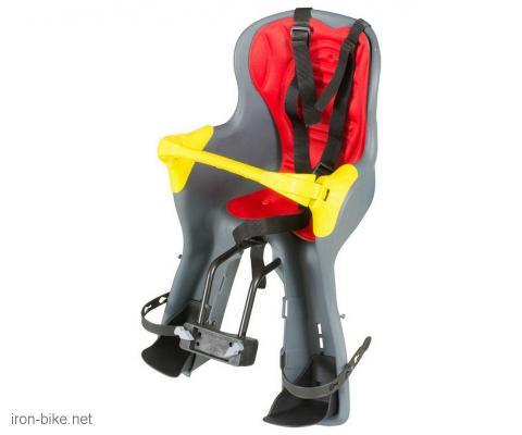 sedište dečije prednje na ram sivo kiki de luxe do 15 kg - 3703100
