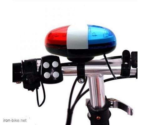 policijsko svetlo i sirena za deciji bicikl