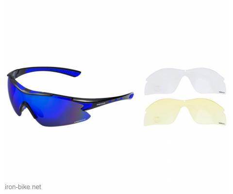 venzo naočare u kutiji 100% uv 2 seta stakala plave - 3720108