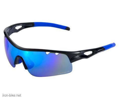 venzo naočare u kutiji 100% uv zaštita crno plave - 3720111