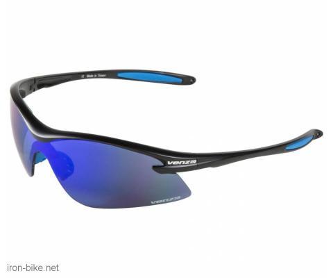 venzo naočare u kutiji 100% uv zaštita crno bele - 3720113