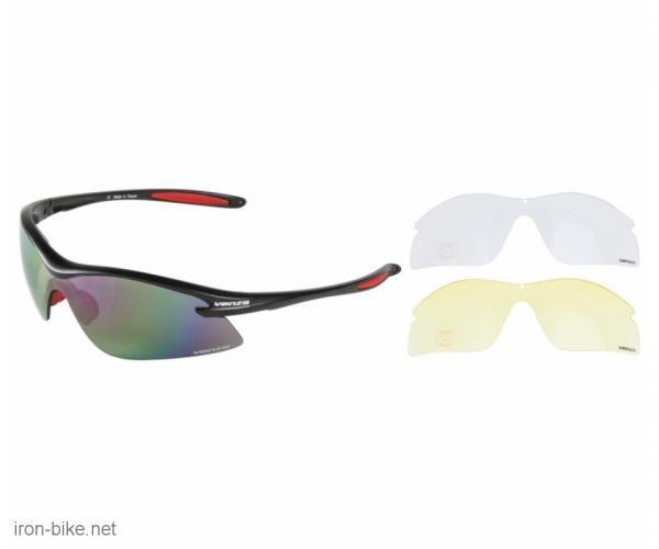 venzo naočare u kutiji 100% uv 2 para stakala crveni - 3720116