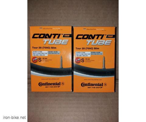 guma unutrašnja 700x28-37c continental tour 28 slim 42mm f/v