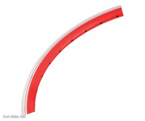 """obruč 20"""" alu dupli x2 36 rupa crvena boja - 3730665"""