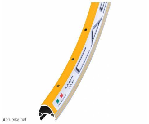 Obruč 26 x 1.5 alu dupli žuti - 3730634