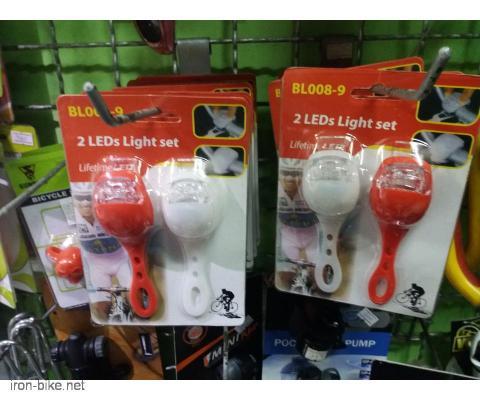 Silikonski treptaci ili blinkalice za bicikl,trotinet i sl.