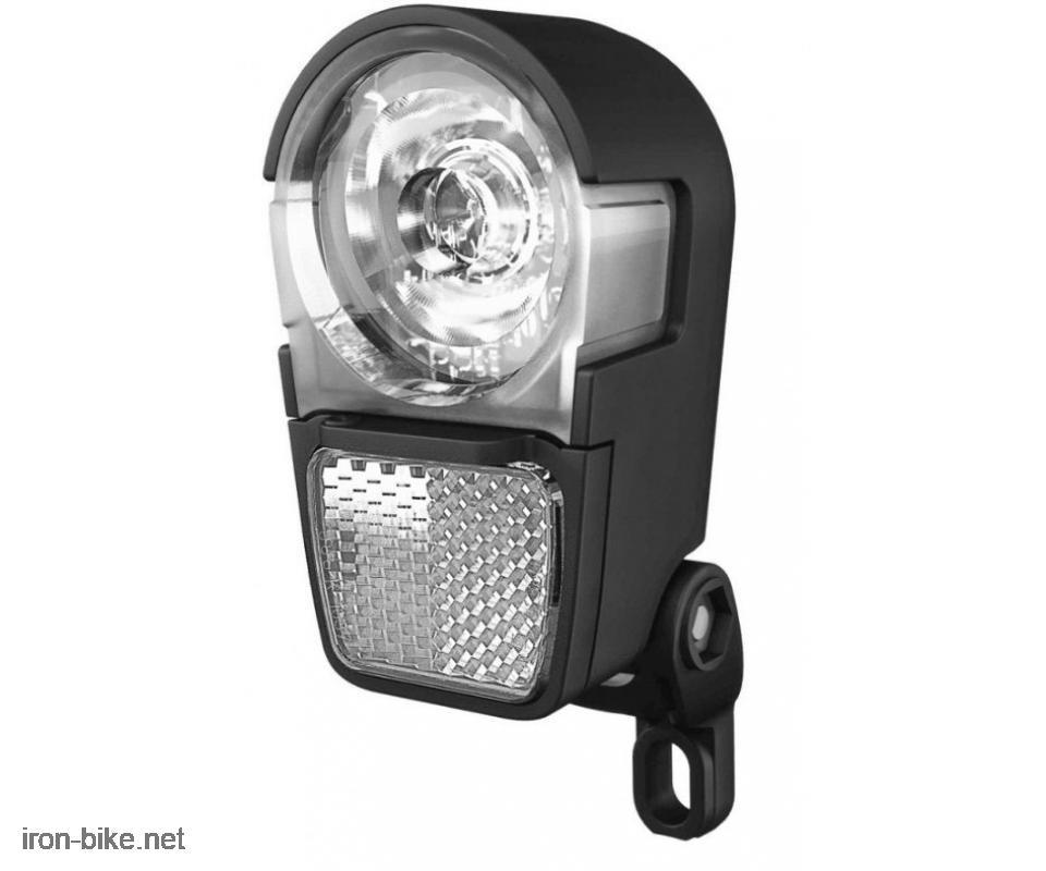 lampa prednja montaža na vilu h-ike herrmans sa katadiopterom 3w - 3501129 koristi 3xAAA baterije