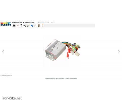 komplet ELEKTRO SET za prepravku 11 opcija