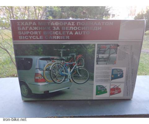 Automobilski nosač za bicikle na gepek ili zadnja vrata